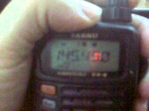 Scanning a Yaesu VX-6 from San Vicente - Asuncion.