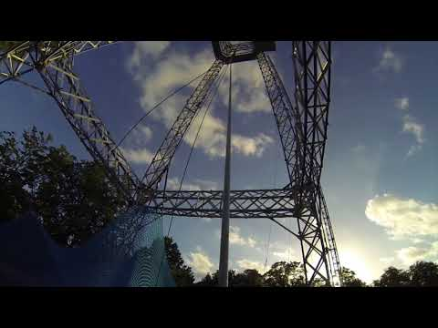 SCAD Tower Worlds Most Crazy Terrifying Free Fall Drop Ride EVER POV Tivoli Friheden Denmark