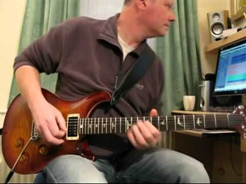 Above these clouds Bill Nelson Guitar Cover
