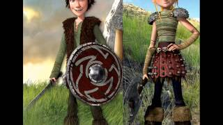 Hiccup and Astrid (Cascada remix)