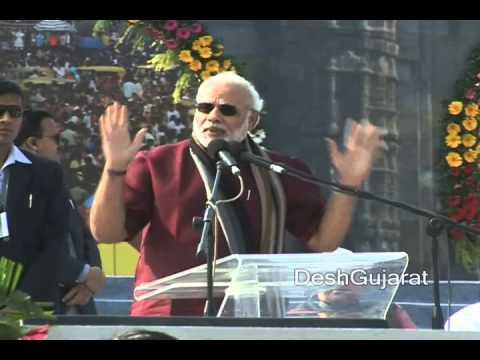 Narendra Modi's speech at Gujarat Tourism's 2014 International Kite Festival in Ahmedabad