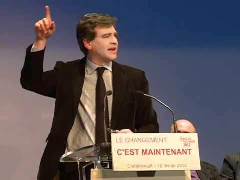 Discours d'Arnaud Montebourg au meeting de Châtellerault
