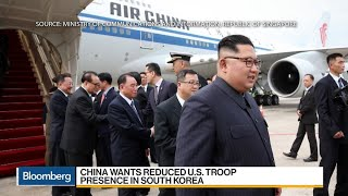 China's Shows Presence in Trump-Kim Talks Through Plane Diplomacy