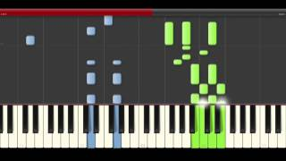 Harris J Good Life piano midi tutorial sheet partitura cover how to play