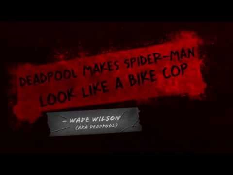 Deadpool-Релизный трейлер -Game Preview Video HD