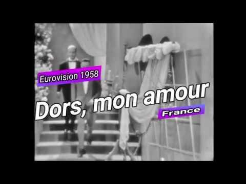 Eurovision 1958 - André Claveau - Dors, mon amour