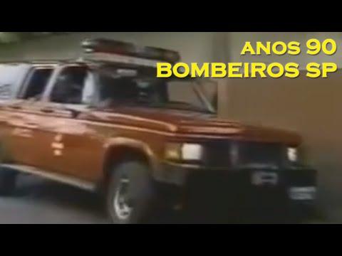 Os Anos 90 No Corpo De Bombeiros Do Estado De São Paulo video