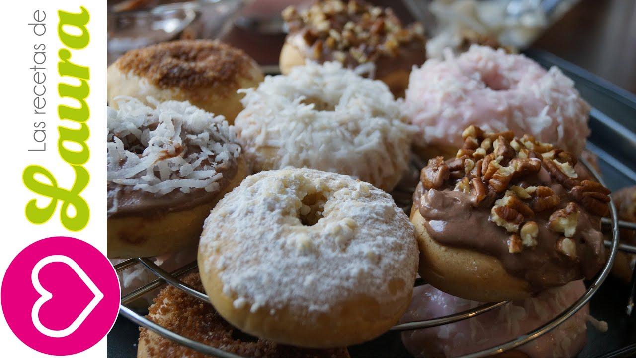 receta de donas horneadas recetas saludables low fat