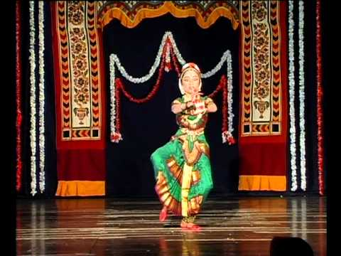 Bharathanatya Arangetram by  8 years old Sharlina Kirubaraj (Pushpanjali)