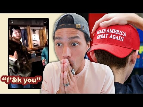 VANS EMPLOYEE FIRED VS MAGA HAT KID!
