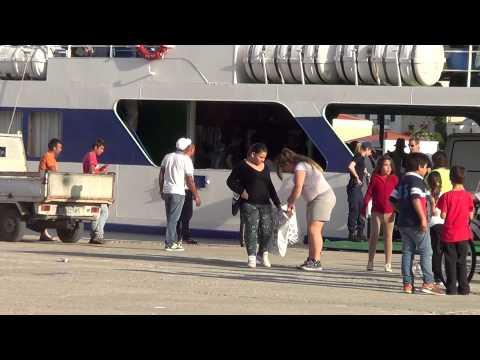 Halki ,Nissos Halki Arrival 14th May 2014