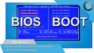 "Como Inicia o PC Pelo Pendrive Para formatar.  "" Boot pelo Pendrive """