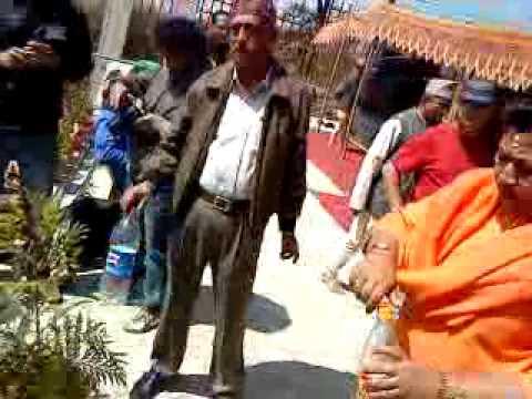Death memoriable krishana prasad bhattarai   Plant 2 plants 2+4+2