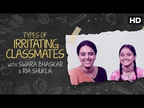 5 Types Of Irritating Classmates | Nil Battey Sannata