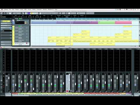 Cubase 6 vs 5 Interface Comparison