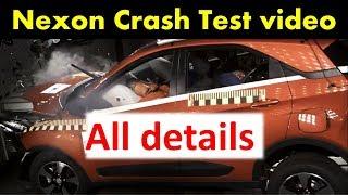 Tata Nexon Crash test video and rating-NCAP नेक्सॉन क्रैश टेस्ट@64kmph
