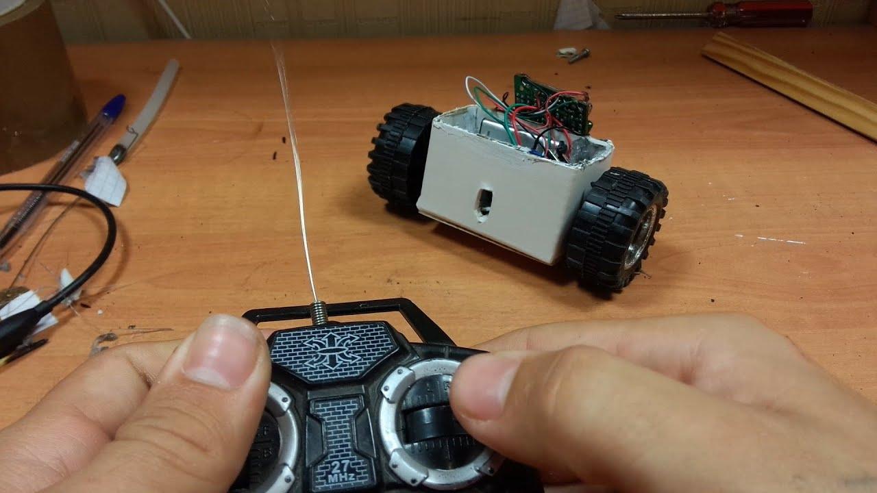 Радиоуправляемая машинка своими руками: rikosha 92