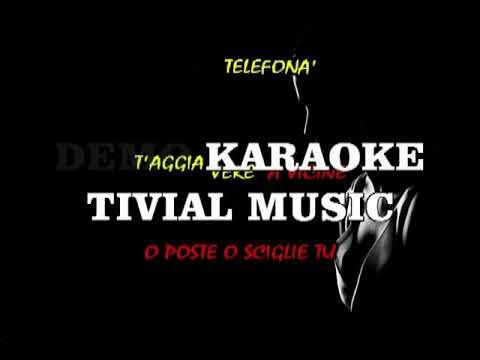 Voglio parla' cu 'tte Fiorellino Karaoke