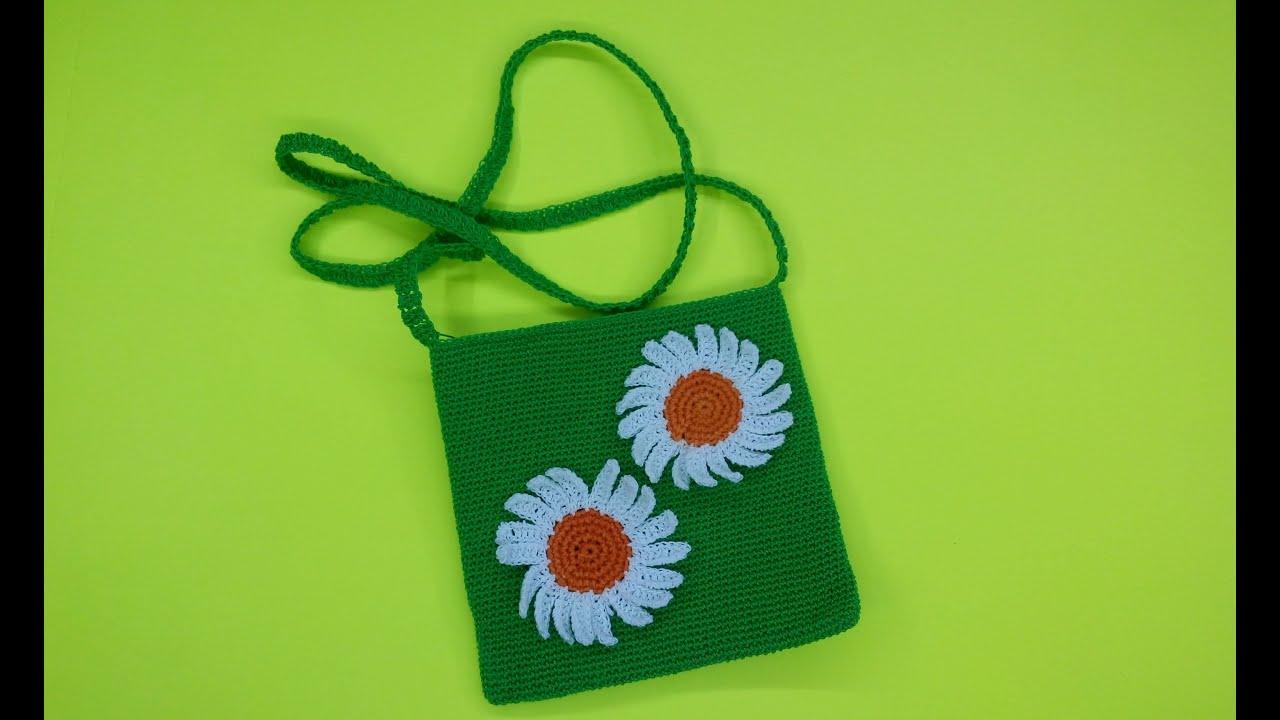 Вязание для девочек сумки 22