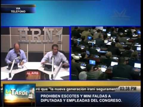 TVC La Tarde- Prohíben escotes y minifaldas a funcionarias públicas del Congreso Nacional