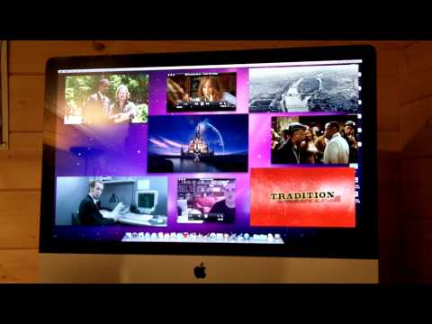 27-inch Apple iMac core i5 HD Movie test