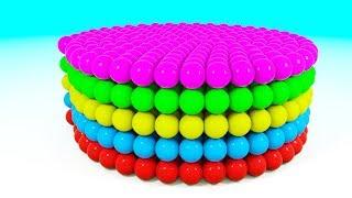 Bolas de Colores - Aprendiendo Colores con Forma de Círculo - Videos Para Niños