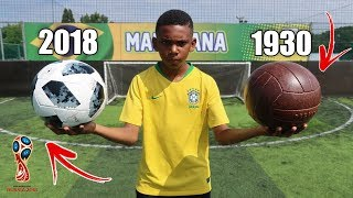 1930's vs 2018 WORLD CUP FOOTBALL! Play Test