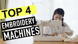 BEST 4: Embroidery Machines 2018