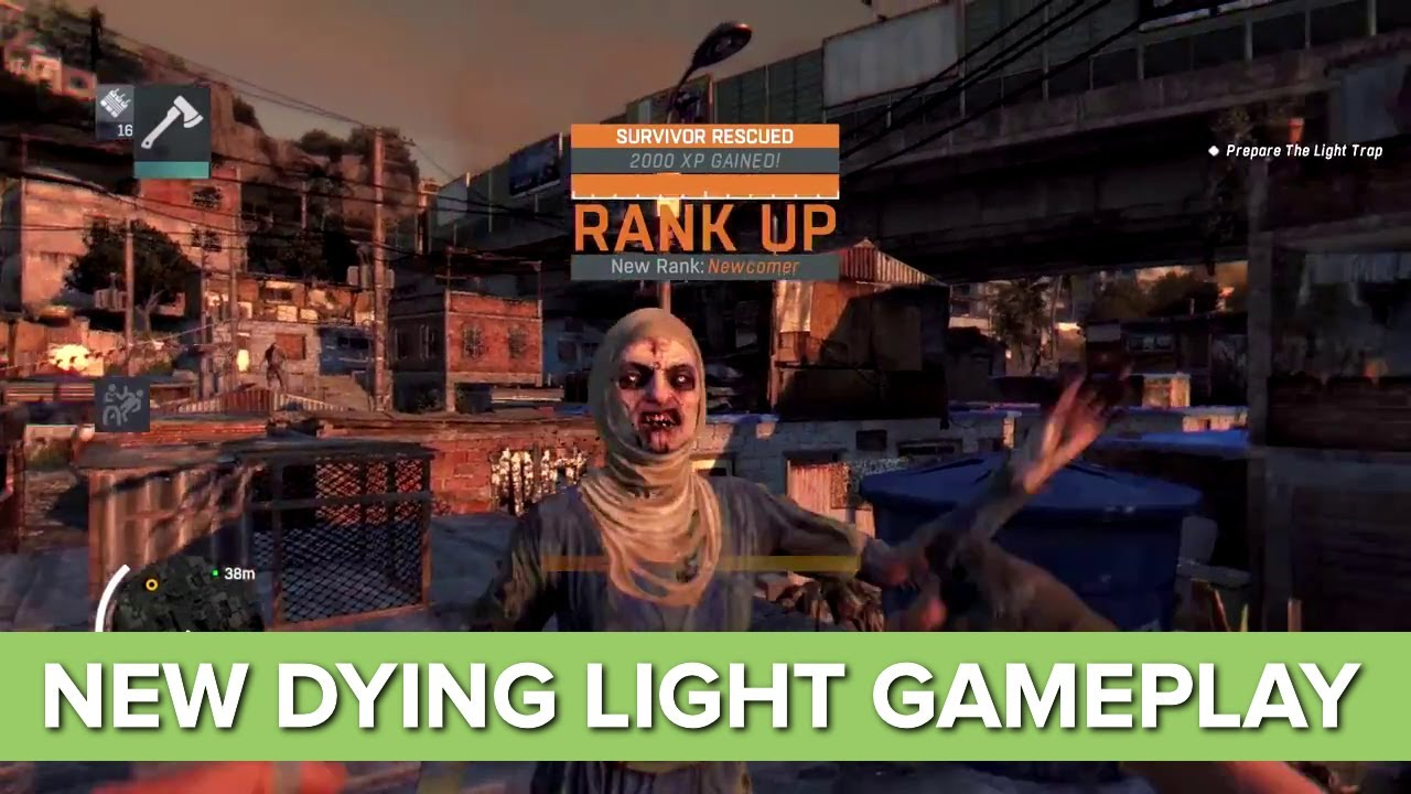 Dying Light NEW Gameplay Night Time Gameplay Xbox One