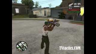 como hacer la moto del vengador fantasma GTA SA