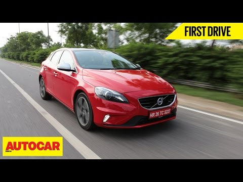 Volvo V40 First Drive Autocar India