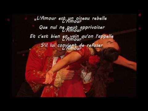 Habanera  -  Carmen - Bizet -  Nana Mouskouri