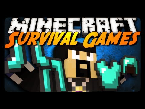 Minecraft: FULL DIAMOND ARMOR! (Hunger Games Survival)