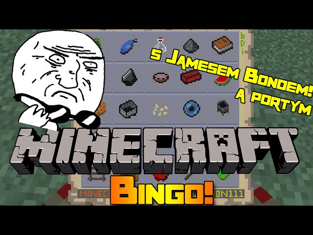 WAREZ ÚTOČÍ! - Minecraft Mini-game: Bingo! w/17Porty