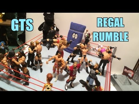 GTS WRESTLING: Regal Rumble! WWE Mattel Action Figure Matches Animation PPV