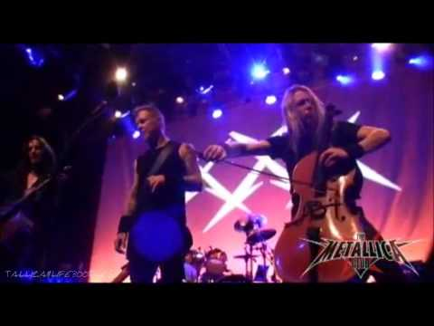 Metallica W  Apocalyptica - Rare - One [live Fillmore December 5, 2011] Hd video