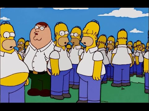 The Simpsons - An army of Homer clones