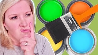 PICKING THE RIGHT PAINT!🎨New House Updates🏡