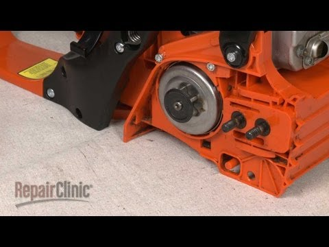 Clutch Drum Replacement (part #99944400395) - Echo Chainsaw Repair