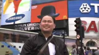 Thumb Publicidad viral de McDonald's en Piccadilly Circus Londres