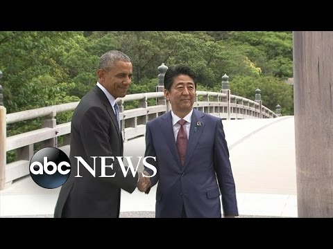 Obama, Japan PM Visit Holy Site After Awkward Encounter