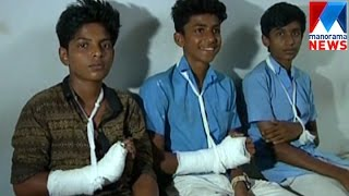 Students attacked for not willing to deliver drugs  | Manorama News