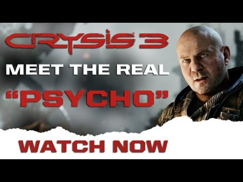 Crysis 3 | Meet The Real Michael 'Psycho' Sykes | January 2013 | PWNED