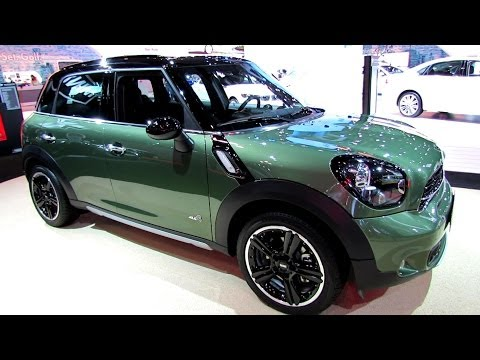 2015 Mini Cooper S Countryman All4 - Exterior. Interior Walkaround-Debut at 2014 N Auto Show