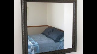 Build A Mirror Frame From Home Center Molding Trim