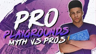 Myth vs Fortnite Pros! - Pro Playgrounds (1v1 BUILD BATTLES!)