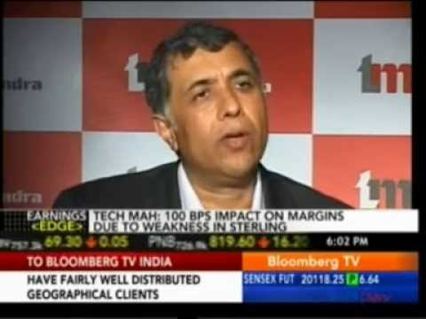 TechM Q4 Results - Bloomberg TV Earnings Edge 21 May 2013