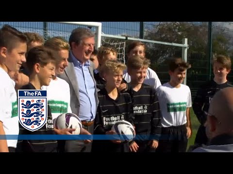 Roy Hodgson and Mark Sampson open new 3G pitch | FATV News