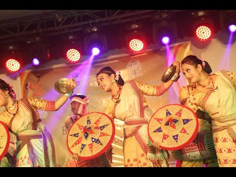 Bihu Dance Performance By Dip Jyoti Hazarika & His Group video