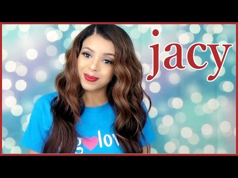 Model Model Deep Invisible Part Wig Jacy | GirlRatesWorld